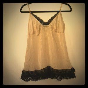Victoria's Secret silk lingerie.  Size small